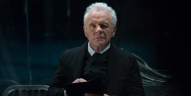 Sir Anthony Hopkins from Westworld. Photo / Supplied