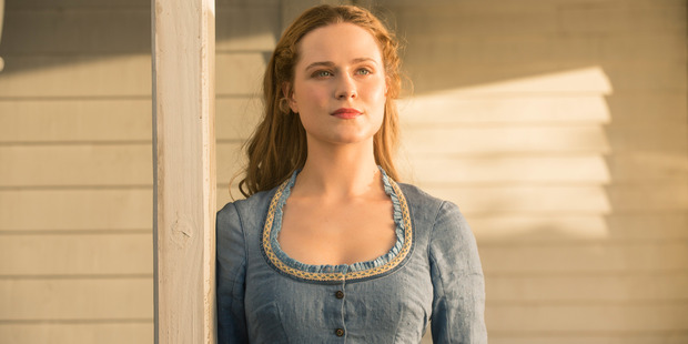 Evan Rachel Wood stars in the television series Westworld. Photo / HBO