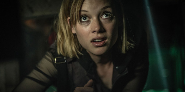 Jane Levy stars in the horror movie Don't Breathe.