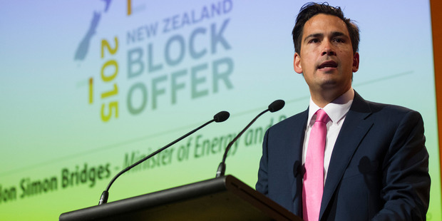 Simon Bridges, Minister of Energy and Resources, opened the renovated Glen Innes substation.