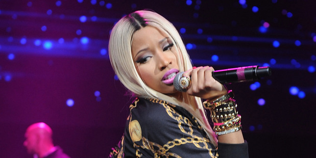 Hip-hop artist Nicki Minaj. Photo / AP
