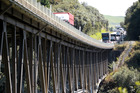 Speed restrictions are in place around the Mohaka Bridge on SH5 over the long weekend.