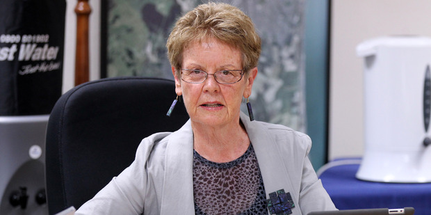 Housing disgrace: Napier City Councillor, Maxine Boag, is concerned about the lack of state housing, which leaves many permanent motel residents without a home during the holiday season.