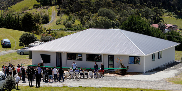 Riverview, the new house shared by four service users at Kaurilands.