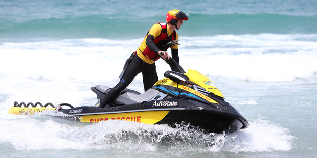 A jet ski patrol will be part of the summer surf patrols in the Bream Bay area. Photo / Michael Cunningham