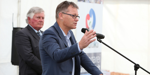 NDHB chief executive Nick Chamberlain says a $3m project to reduce 'P' demand in Northland is an aligned approach to enforcement, treatment, and community resilience building. Photo / Michael Cunningham