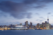 An artists impression of a Waterfront Stadium for Auckland. Photo / NZPA
