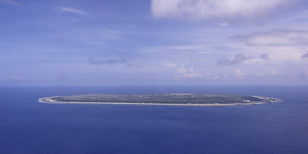 The central pacific island of Nauru . New Zealand Herald Photograph by Kenny Rodger.
