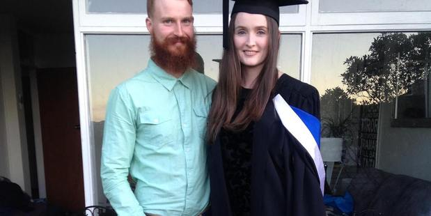 On the move: Alice Harkness and Ryan McCrae are first home buyers from Hamilton who are relocating to Napier in November as the house prices in the city are too expensive. Photo/ Supplied