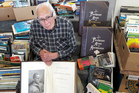 Rare set of the Picturesque Atlas of Australia will be put up for tender at the Tauranga Harbour City Lions Club book sale next month, says book connoisseur and volunteer Glenn Pettit. Photo/supplied