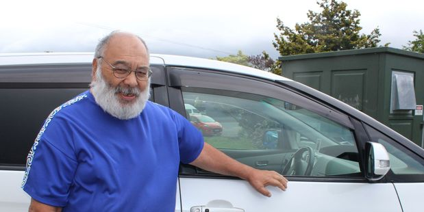 Dannevirke has a new taxi service, with Wiremu Cooper in the driver's seat