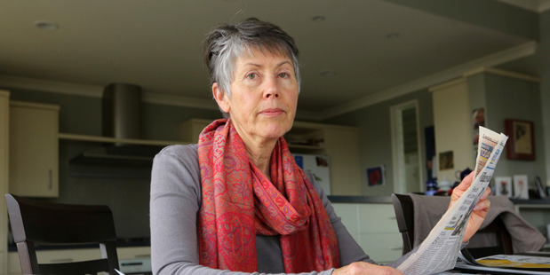Aquifer lobbyist: Pauline Doyle, the co-founder of Guardians of the Aquifer, is strongly against the water bottling consents issued by the Hawke's Bay Regional Council. Photo/ Duncan Brown.
