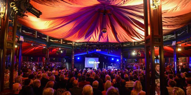 Inside The Famous Spiegeltent PHOTO by TIM WHITTAKER