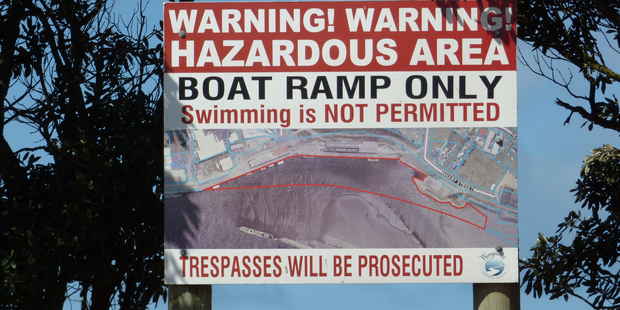 SWIMMERS BEWARE: The port development plan may incorporate a swimming area but opinion is divided.