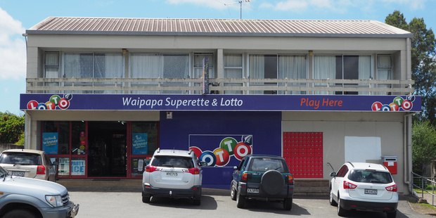 Waipapa Superette on State Highway 10 is the latest store to be targeted by thieves looking for cigarettes. Photo / Peter de Graaf