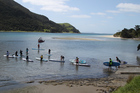 Getting out on the water in the Community Paddle Day at Houhora earlier this month. Photo / Shirley Jackson Bradley