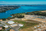 Hobsonville Point where plans for a new apartment block were cancelled.