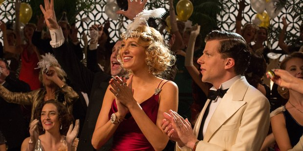 Blake Lively and Jesse Eisenberg star in the movie Cafe Society.