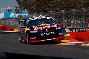 Shane van Gisbergen was fastest on day one of the Castrol Gold Coast 600. Photo / Mark Horsburgh