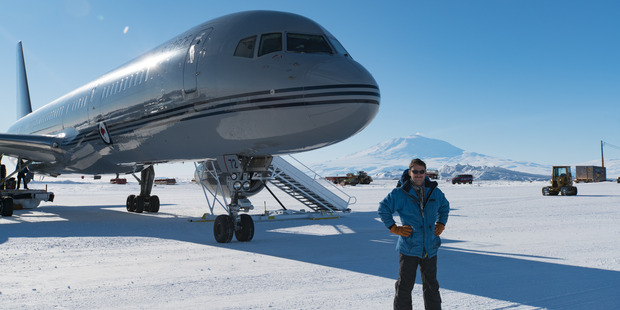 Squadron Leader Matt Ferris, captain of the NZDF's first strategic airlift support flight to the continent for the 2016-17 summer season. Photo / Supplied.
