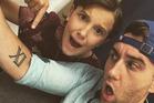 Millie Bobby Brown and Matthew Lewis. Photo / Instagram