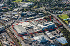 The Henderson Westfield WestCity shopping centre - identified by a red border
