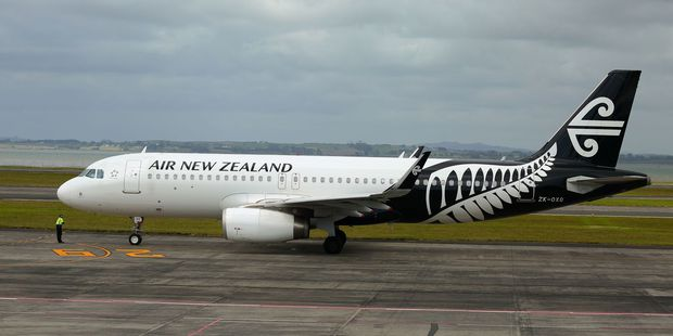 An Air New Zealand Airbus A320 was forced to divert from Tonga because of runway light problems.