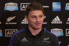 All Blacks 1st-five Beauden Barrett and hooker Dane Coles commenting on the upcoming test against the All Blacks and Australia and the shot at the record.