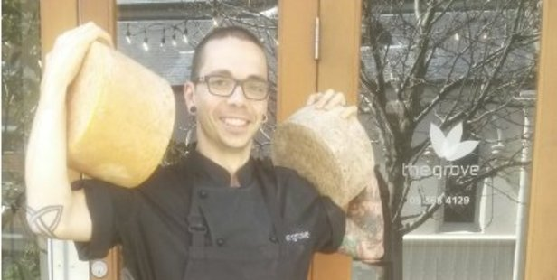 The Grove chef Josh Barlow wants to protect locally made dairy products. PHOTO/TWITTER
