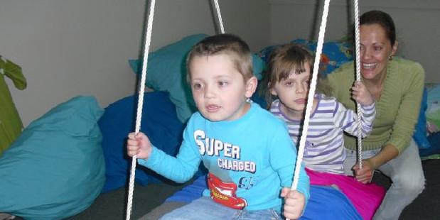 Maria had endured difficult times raising two autistic children. Photo / Facebook