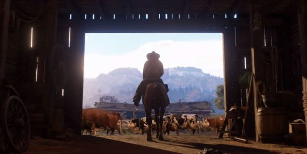 Loading The 68-second trailer gives away little, showing largely shots of animals and silent characters in a number of gorgeous-looking vistas.