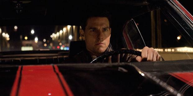 Loading Tom Cruise starring as Jack Reacher in the new film Jack Reacher: Never Go Back.