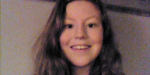 Katie Edwards, 13, was killed along with her mother by a teenage couple. Photo / Facebook