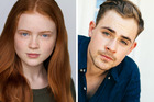 Sadie Sink and Dacre Montgomery will play newcomers Max and Billy. Photos / Netflix