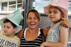 Maria Claudia Lutz Pena and children Martin and Elisa. Photo / Facebook
