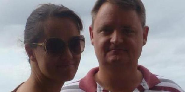 Fernando Manrique and Maria Claudia Lutz - neighbours report he was working on the house two days before the family were killed. Photo / Facebook