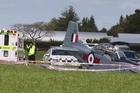 A light aircraft has gone down near Matamata