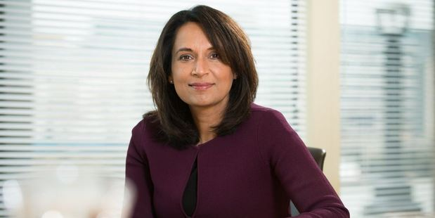 Ruby McGregor-Smith was the first Asian woman to head a FTSE 250 company. Photo / Twitter