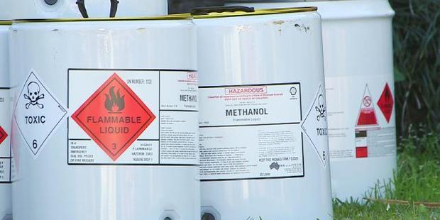The moonshine contained amounts of highly toxic methanol. Photo / Frank Redward