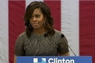 "US First Lady Michelle Obama tells voters in Phoenix, Arizona that the idea a presidential candidate would reject the outcome of an election ""threatens the very idea of democracy itself"", in reference to Donald Trump."