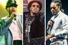 Chance the Rapper, Anderson .Paak and Future are all part of the rap's new golden age. Photos / Washington Post