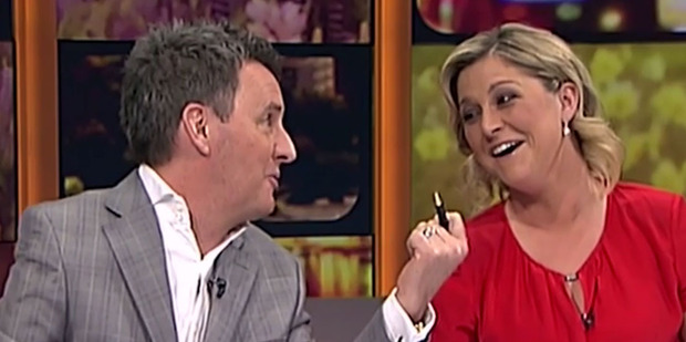 Mike Hosking and Toni Street's banter took a turn for the awkward on Seven Sharp this week.