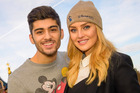 Perrie Edwards confirmed that Zayn Malik did end their engagement via text message. Photo / Splash News Australia