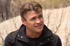Luke Hemsworth who stars in Westworld is too nervous to meet Sir Anthony Hopkins. Photo / HBO