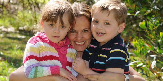 Maria Claudia Lutz and children Elisa and Martin were gassed in suspected murder suicide. Photo / Facebook