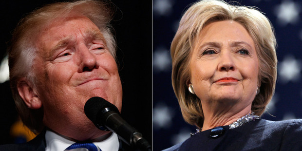 Donald Trump will seek to give his bid for the White House a much-needed boost today as he clashes with Hillary Clinton for the final debate before America goes to the polls. Photo / Getty Images