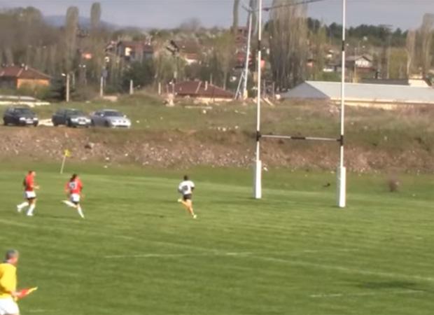 Cyprus taking in Bulgaria in win No 13. Photo / YouTube