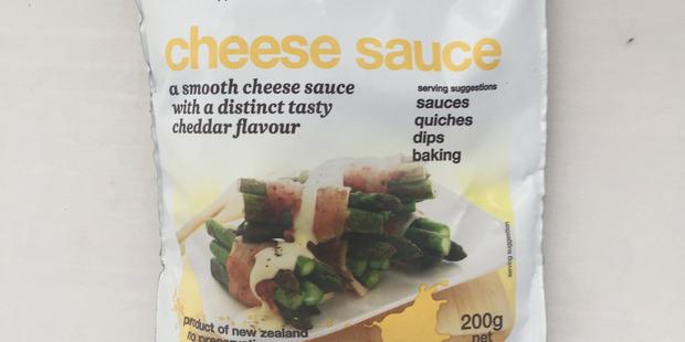 Tatua Cheese Sauce. $4.65 for 200g sachet. Photo / Supplied