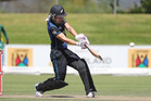 Natalie Dodd set up the win for the White Ferns with a half century. Photosport