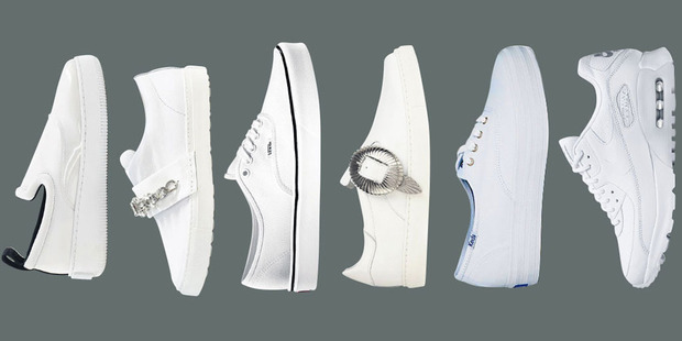 The most versatile shoe for summer is still a clean-cut white sneaker.